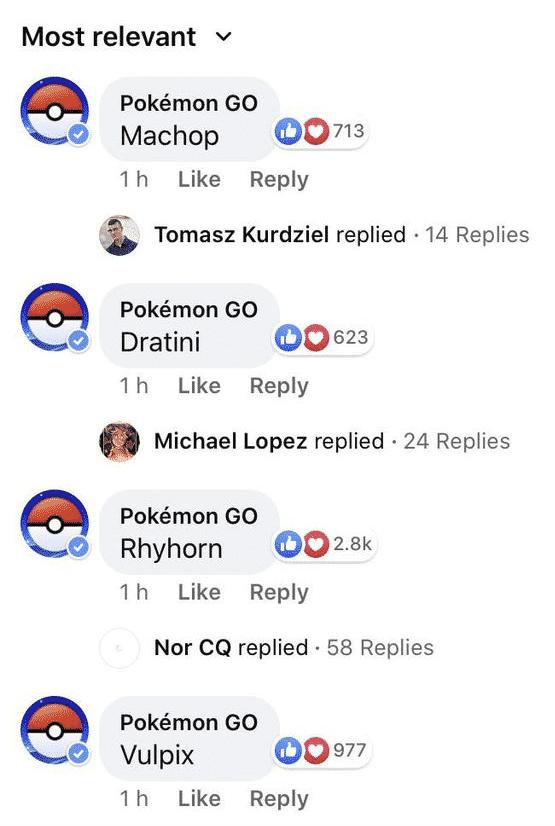 Sonntagsfrage bei Pokémon GO 1