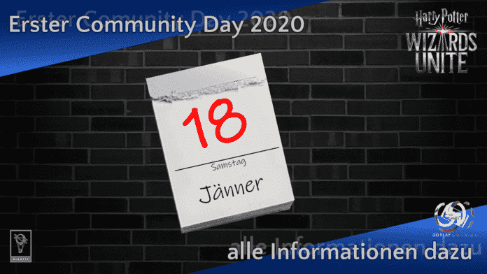 Harry Potter: Wizards Unite - Community Day Jänner 2020