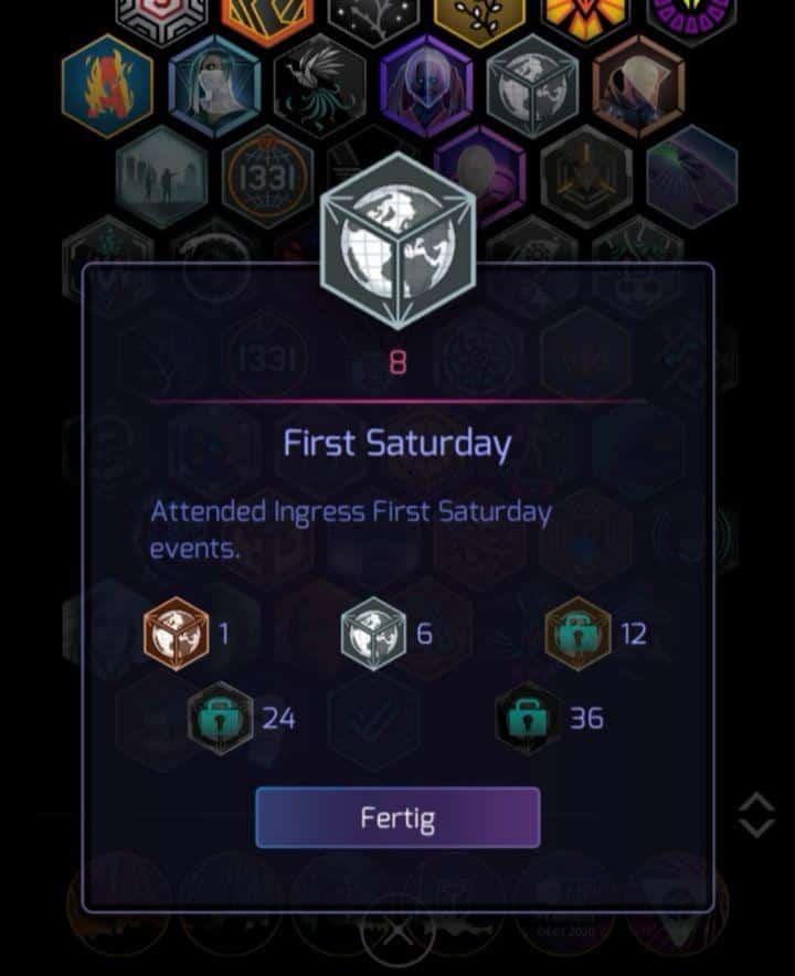 Ingres First Saturday