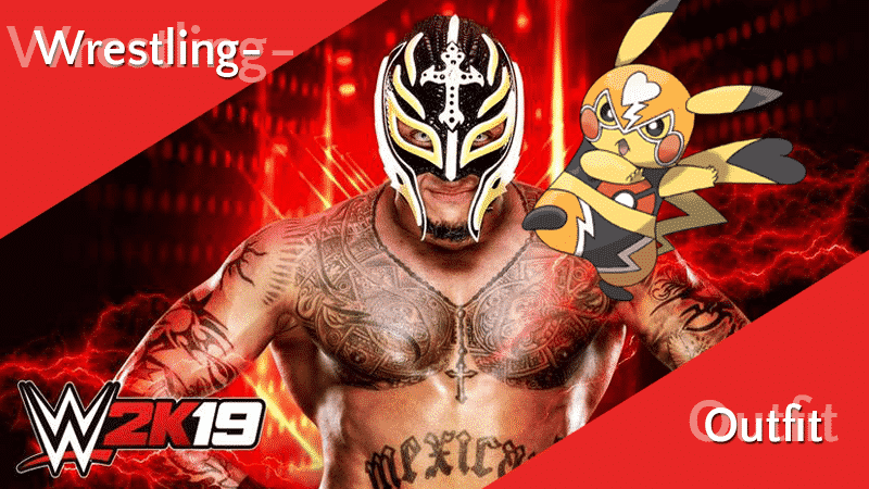 Wrestling-Pikachu-Outfit gefunden 11