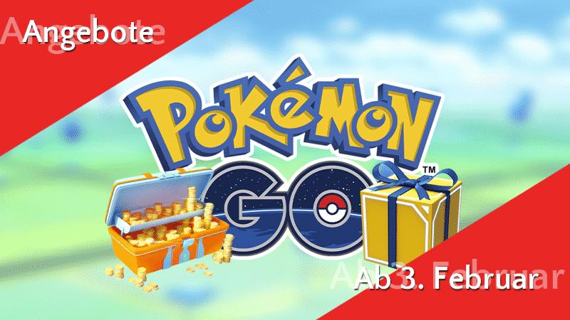 Angebote im Pokémon GO Shop ab 3. Februar 11
