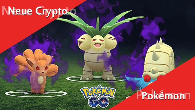 Neue Crypto-Pokémon und Rocket Leader 14