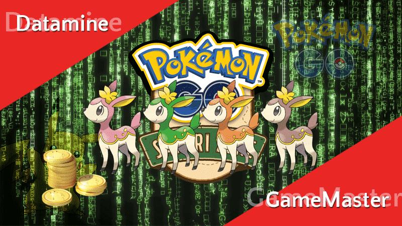 Datamine - neue Safari Zonen, Quests für PokéMünzen und mehr! 11