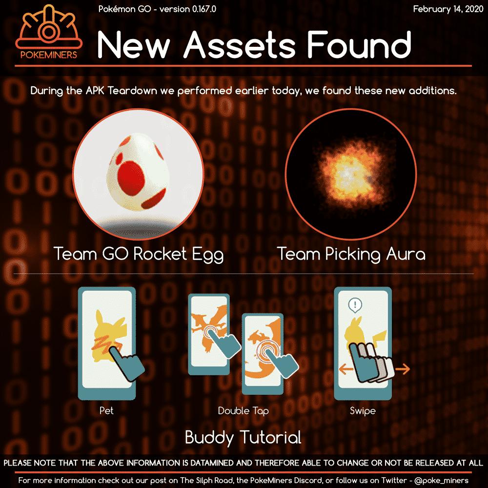 Crypto-Eier, Crypto-Boost und Felswerfer - Pokémon GO Datamine 1