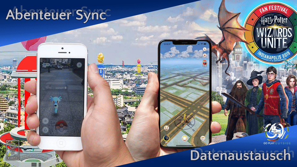 Niantic Datenaustausch bei Abenteuer Sync