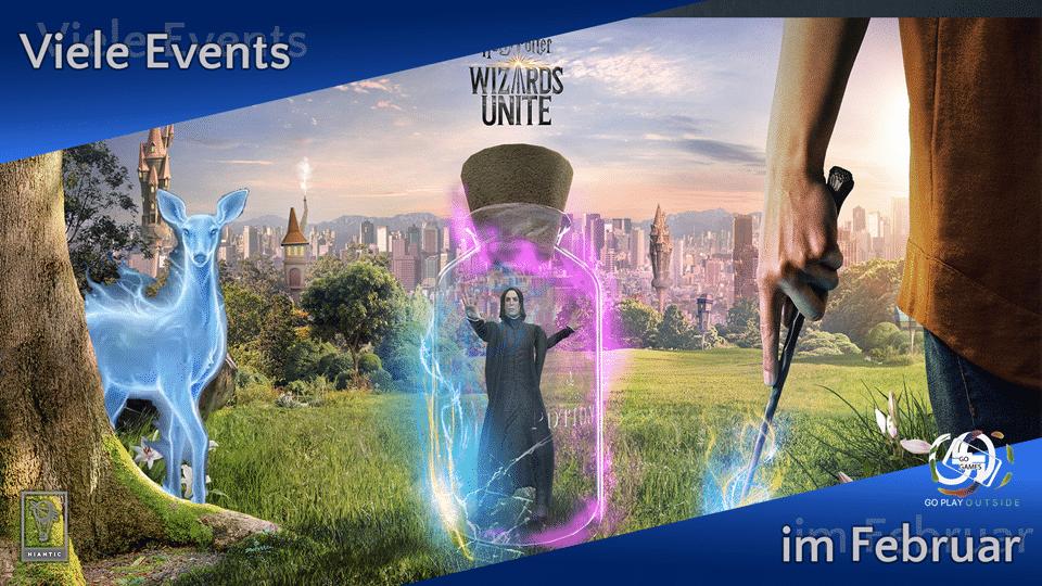 Harry Potter Wizards Unite - Viele neue Events im Februar