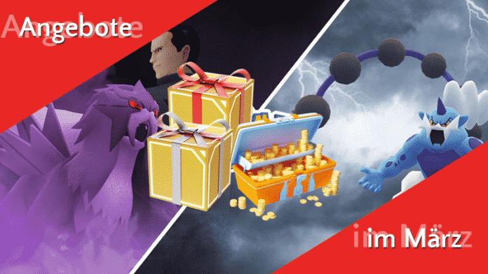 Angebote im Pokémon GO Shop ab 6. März 4
