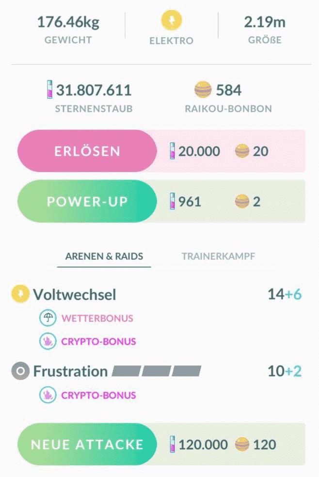 Crypto-Bonus, 7km-Eier, Rauch-Preise und GO Battle League Belohnungen 7
