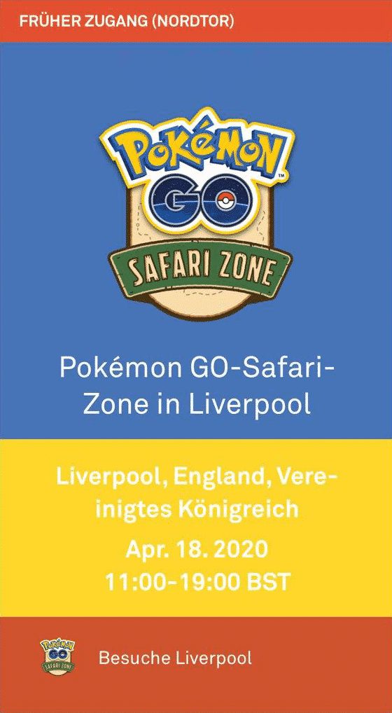 Niantic sagt Safari Zone Liverpool und Philadelphia ab 2