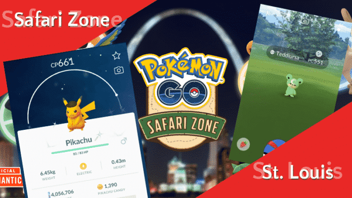 Safari Zone Saint Louis Ersatzevent