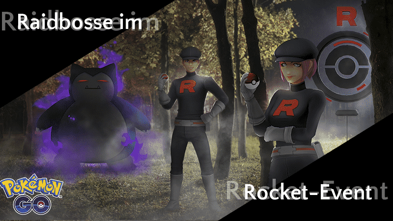 Raidbosse im Team GO Rocket Event März 23