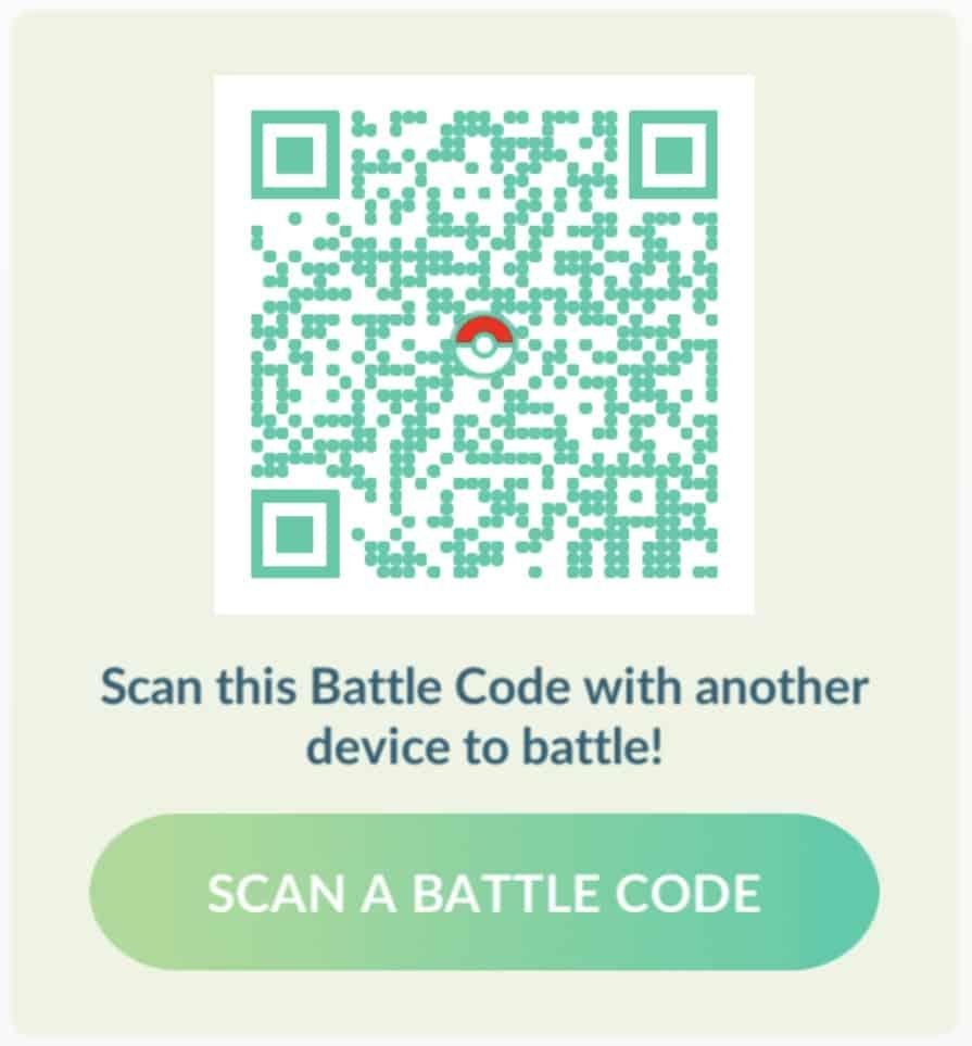 Trainerkampf QR Code