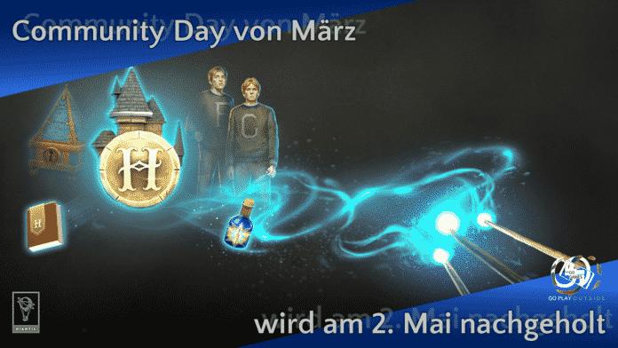 Der Community Day von März wird am 2. Mai nachgeholt