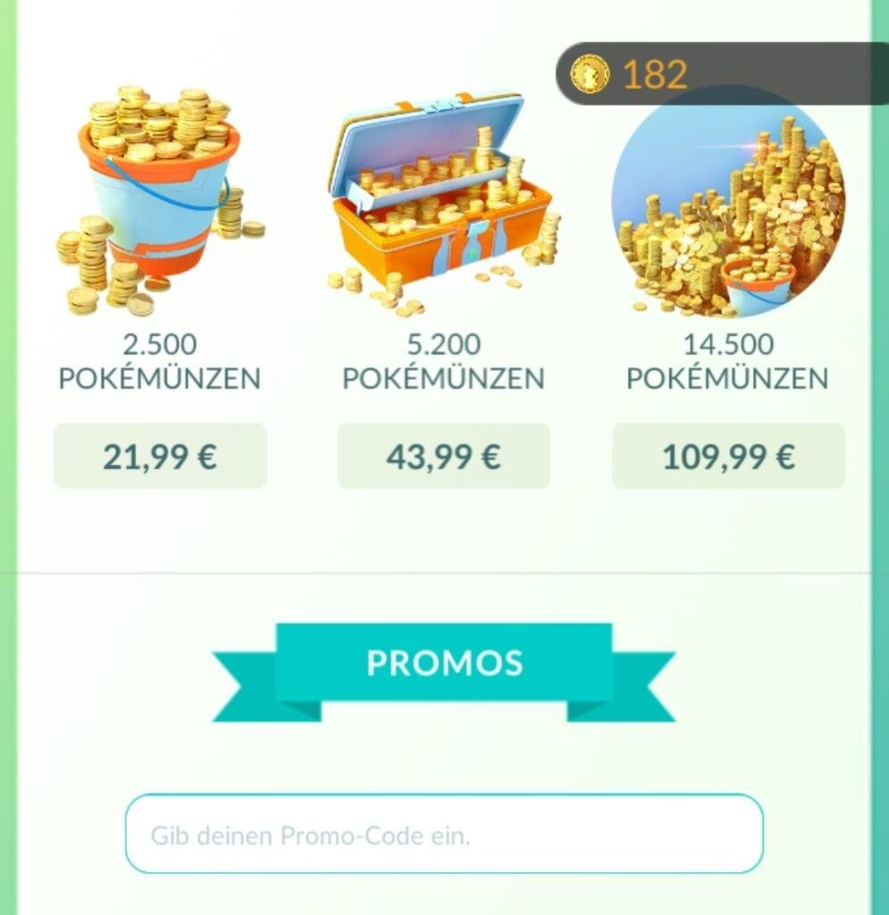 Angebot für 1 Münze + Promo-Code 3