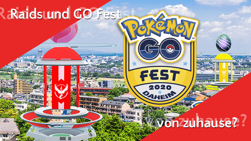 Raids Pokémon GO Fest zuhause