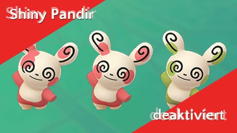 Shiny Pandir wurde deaktiviert