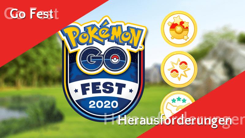 GO Fest 2020 Herausforderungen