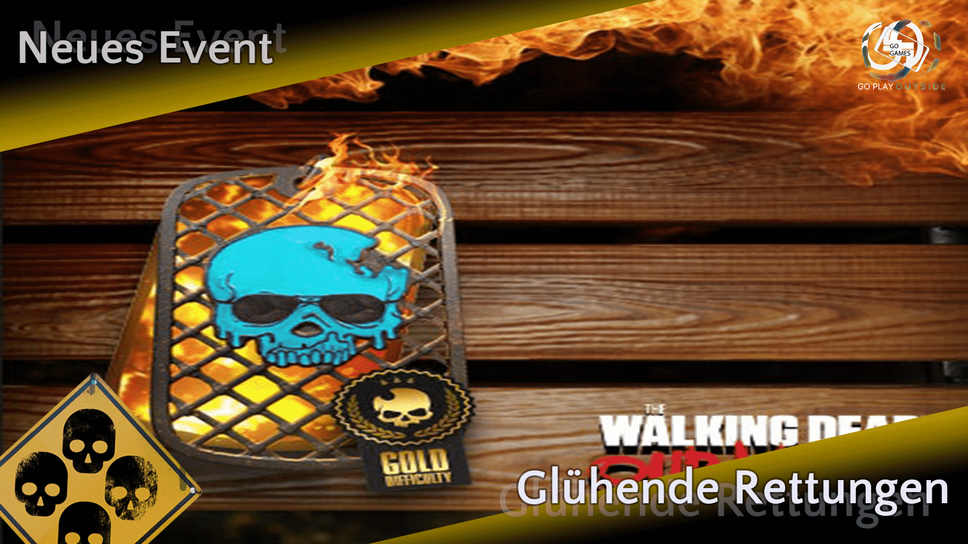 The Walking Dead: Our World - Event - Glühende Rettungen