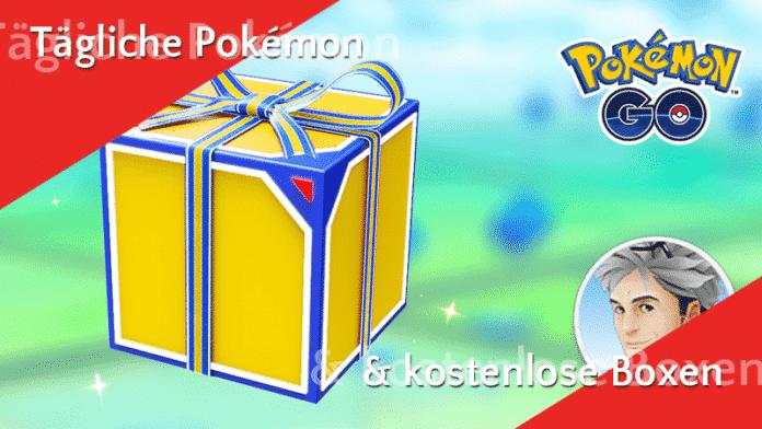 Tägliche Pokémon