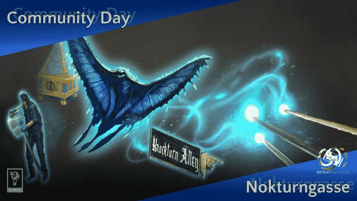 Harry Potter: Wizards Unite Community Day Juli 2020 - Nokturngasse