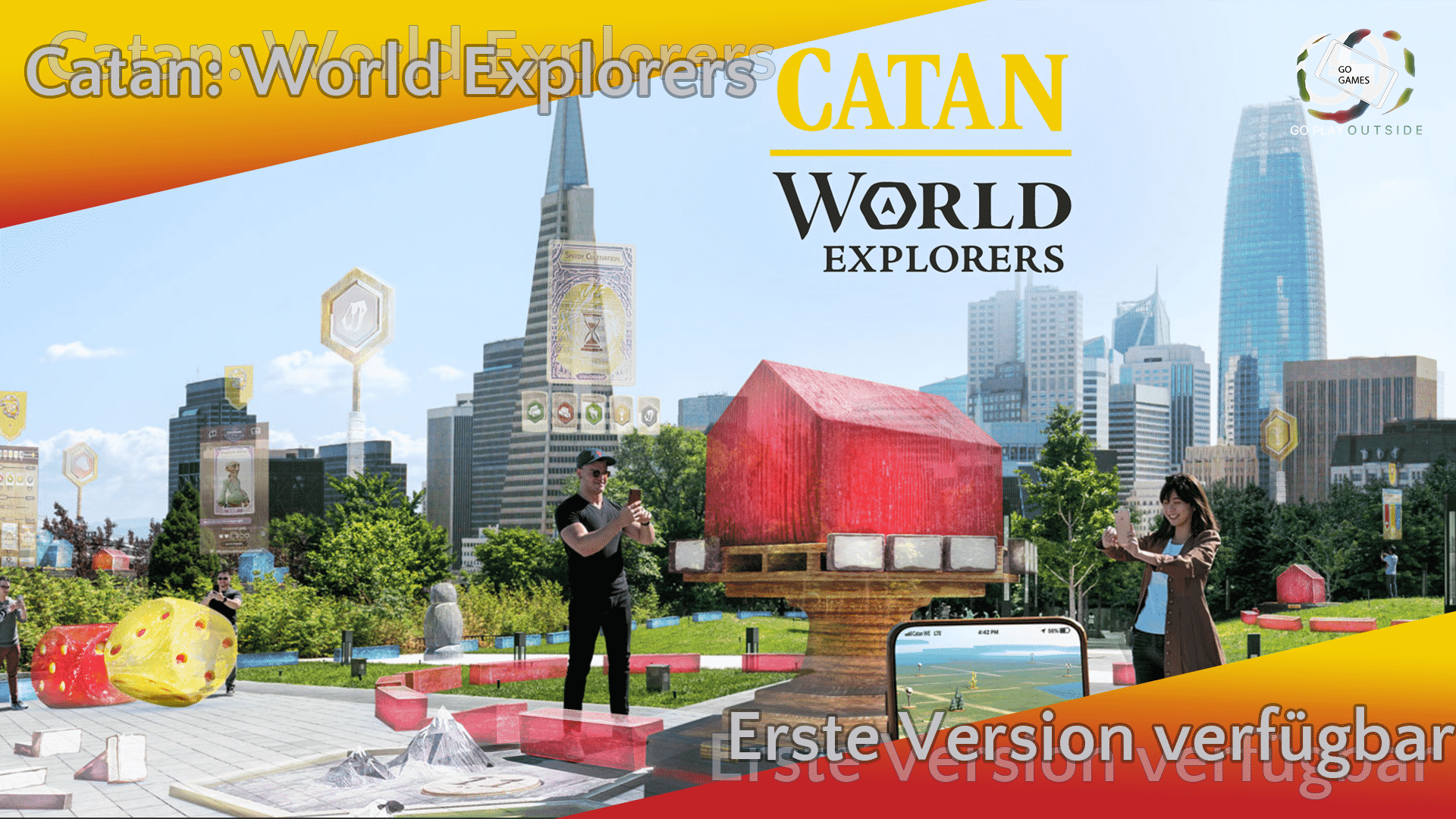 Catan: World Explorers - Erste spielbare Version