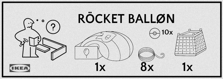 Seltsame Schnipsel? - Offizielle Hinweise zum Rocket Ballon 14