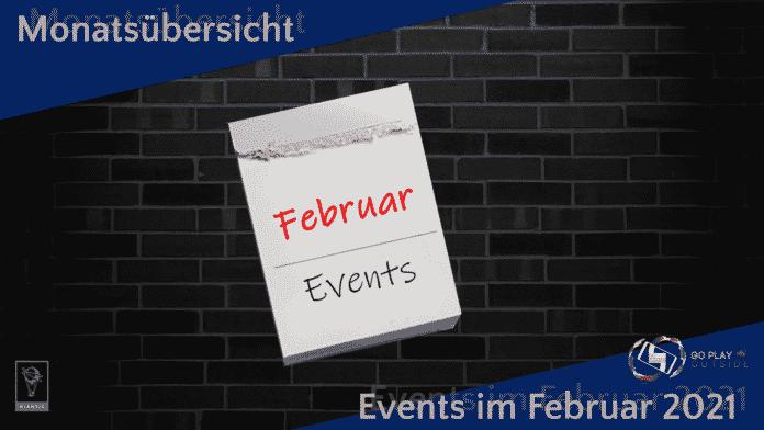 Events: Monatsübersicht Februar 2021
