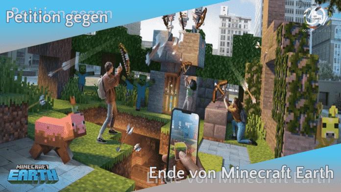 Petition gegen das Ende von Minecraft Earth
