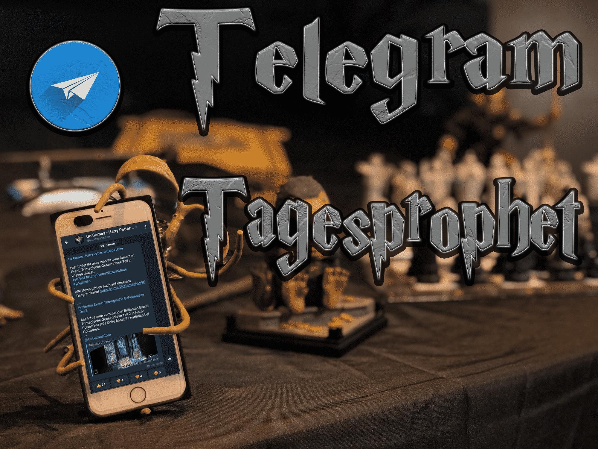 Harry Potter: Wizards Unite - Telegram Tagesprophet