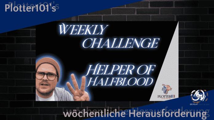 Plotter101's wöchentliche Herausforderung Nr 4