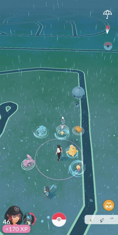 Neuer Ballon in Pokémon GO - fliegende Werbung 1