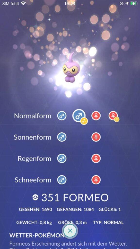 Pokémon GO Wetterwoche ab 24. März 2