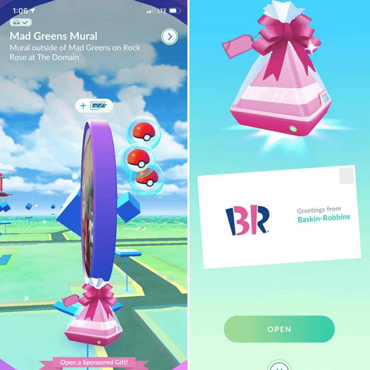 Neuer Ballon in Pokémon GO - fliegende Werbung 2