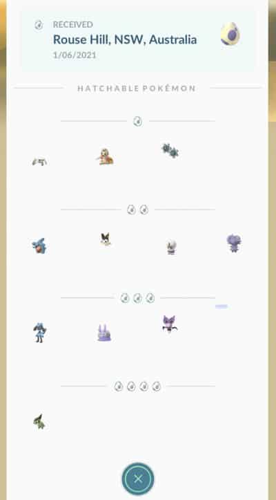 Übersicht der Pokémon-Eier Saison Juni-August 4