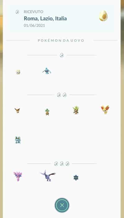 Übersicht der Pokémon-Eier Saison Juni-August 2