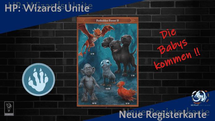 Wizards Unite Neue Registerkarte Verbotener Wald 2