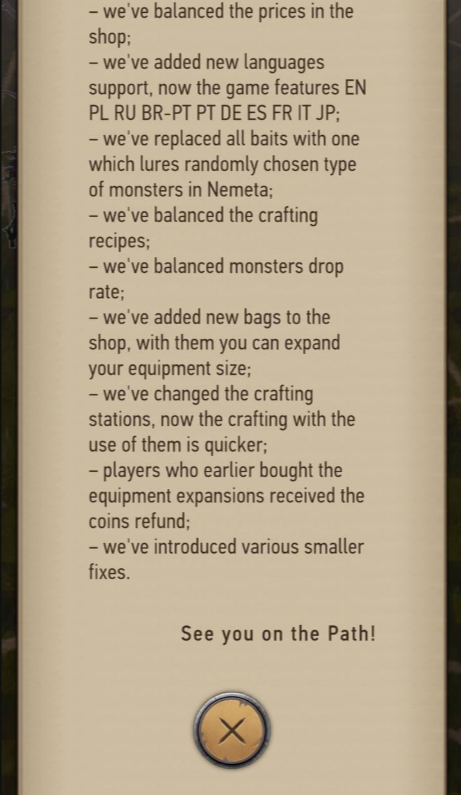 The Witcher: Monster Slayer 0.9.1037 - This changes for you 2