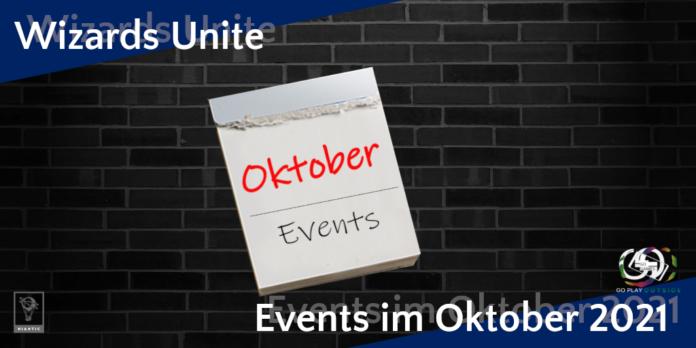 Monatsübersicht Events im Oktober 2021