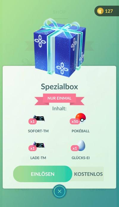 Geschenkbox zum Geburtstag von Niantic 1